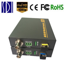 HD-SDI Optical Transceiver Fiber To SDI Media Converter With RS485 3G-SDI Fiber Optic Video Transmitter Receiver Over Fiber