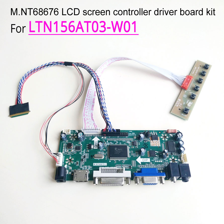 For LTN156AT03 W01 60Hz laptop LCD panel WLED 15 6 inch LVDS 40 pin 1366 768