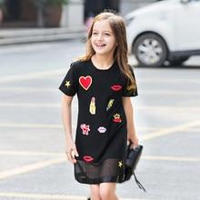 Maquillage Vêtements pour Adolescent Filles Bébé Enfant Coton Robe Conçoit Des Vêtements Fille Enfants Robe pour L'âge 5 6 7 8 9 10 11 12 13 14 15 Ans