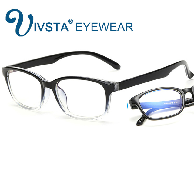 IVSTA Computer Glasses Frames Anti Blue Rays Radiation Men Women Square Glasses Optical Gaming Men Women Game Phone Eyes C028 3