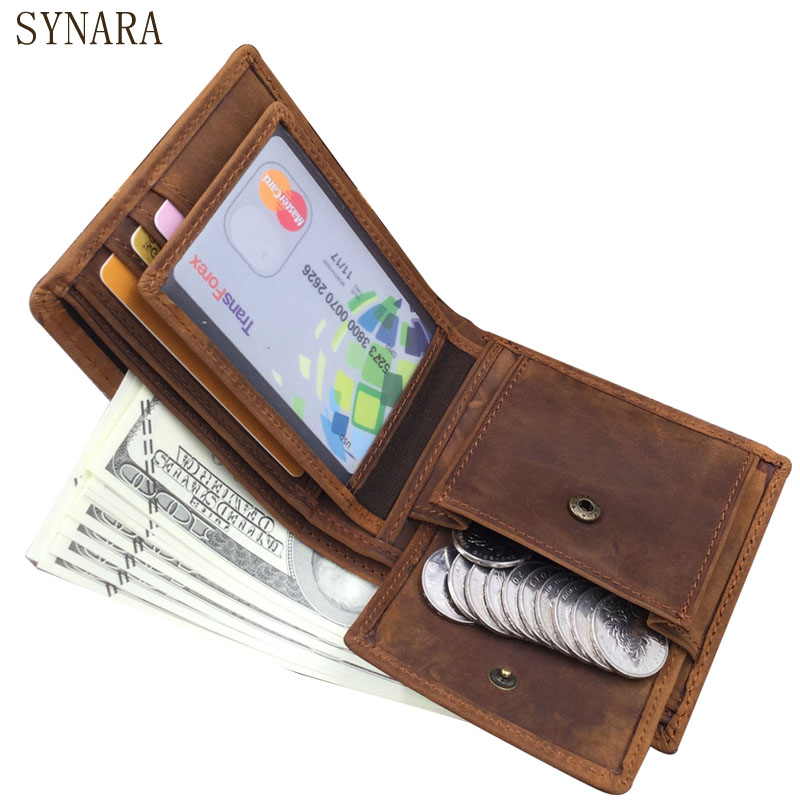 Genuine leather men wallets dollar price short purse high quality designer brands money clip Retro coin pocket Money Bag dc movie hero bat man anime men wallets dollar price short feminino coin purse money photo balsos card holder for boy girl gift