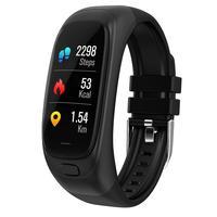 CES12 Smart Bracelet Fitness Tracker USB Flash Drive Smart Push Reminder Sports Remote Taking Photo Music Control Wristband