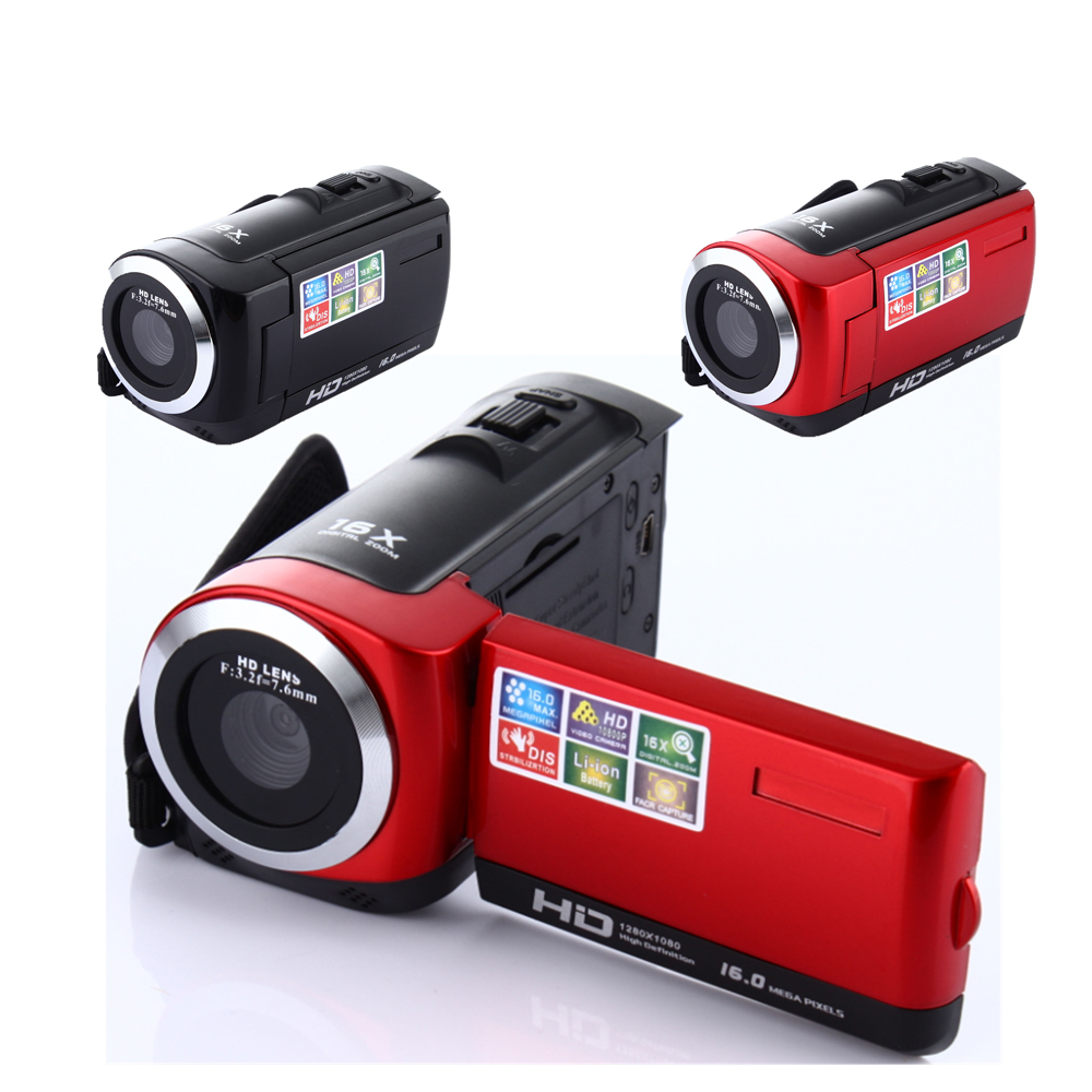 2 7 inch camcorder Video Cameras TFT LCD HD 720P 16MP Digital Video Camcorder Camera DV