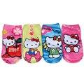 3d de impresión calcetines niños niñas calcetines de algodón para el invierno hello kitty para Los Niños Minions Niña Calcetines Niños Calcetines Lot/12 pares