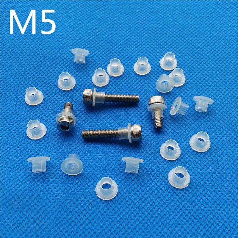 M5 Transistor Plastic Washer Insulation Bush Nylon Step T type Bushing Ring