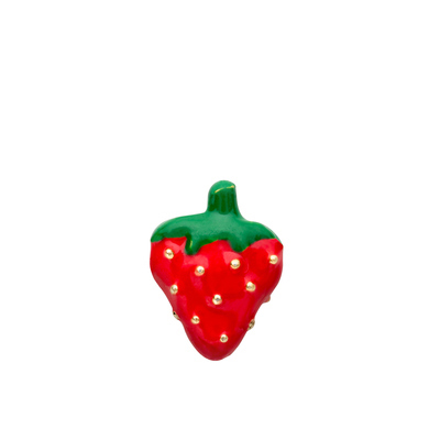 AWFC136 floating charms 10pcs strawberry for floating locket