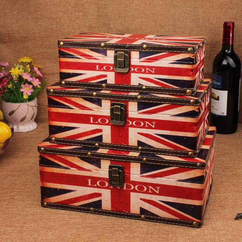 2015 new hot retro Union Jack British style wooden storage box set wholesale wooden storage box2015 new hot retro Union Jack British style wooden storage box set wholesale wooden storage box