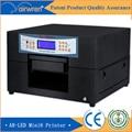 Пластиковые пвх карт-принтер струйный уф-планшетный принтер печать на перо, кожа, и т. д.