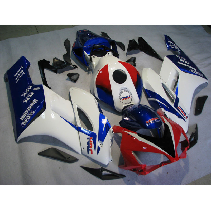 Injection ABS Plastic Fairing Bodywork Set Fit For Honda CBR1000RR 2004-2005 New high match injection mold fit for ducati 03 04 749 999 2003 2004 bodywork fairing kit brand logo decal 4 free gifts