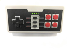 10pcs Wireless USB Plug for Nintendo for NES Mini Four Buttons Wireless Game Controller joystick Gamepad With Wireless Receiver
