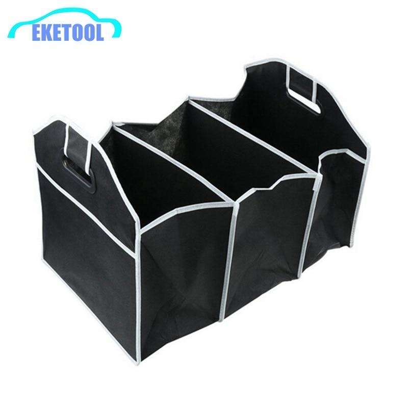 Car Boot Organiser Handy Folding Trunk Storage Box Save Space Auto Car Accessories Arrangement