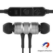 Модные магнитные наушники Bluetooth 4.1 КСО чип Беспроводной микрофон гарнитуры Спорт Наушники для IPhone Xiaomi телефона Android