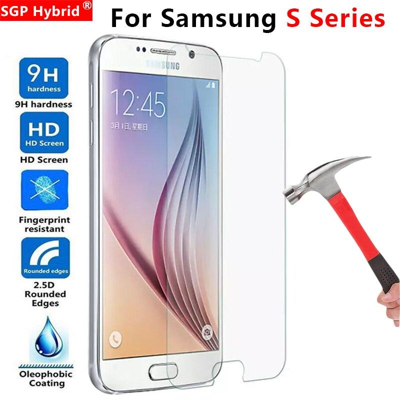 Verre de protection pour Samsung S7 S6 S5 S4 S3 S2 verre trempé sur le Galaxy S 7 6 5 4 3 2 7s 6s 5s 4s 3s 2s Film de protection d'écran
