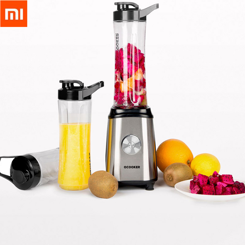 Xiaomi Ocooker Portable Juicer Baby Fruit and Vegetable Cooking Machine Point Switch 304 Stainless Steel 8 Seconds Soup Machine