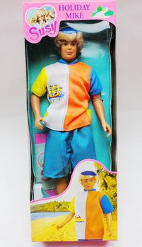 Original Vintage Susy Boy Friend Holiday Mike Doll Toy Girl Doll Collection Girl Birthday Gift шаблон для мема с дрейком