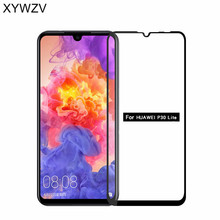 2PCS Full Glue Cover Glass For Huawei P30 Lite Tempered Screen Film