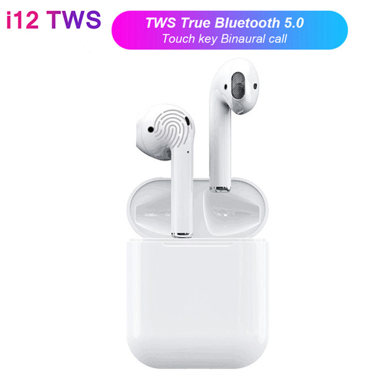 i12 TWS 1:1 Air Pods Mini Wi-fi Bluetooth V5.zero Earphone Contact Management Binaural Name Earbuds PK I10 For iPhone Android Xiaomi Bluetooth Earphones & Headphones, Low-cost Bluetooth Earphones &...