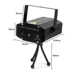 Image 2 - LED Laser Lights Projector stage light Sound Activated Auto Flashing Led Stage Lights for DJ Disco Party Show with Controller