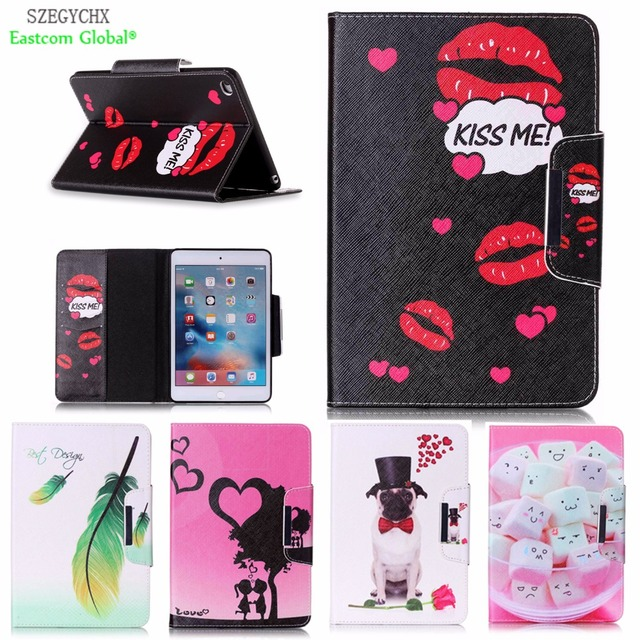 Tablet Case Cover For Ipad Mini 4 Szegychx Shockproof Retina Smart Slim Designer Pu