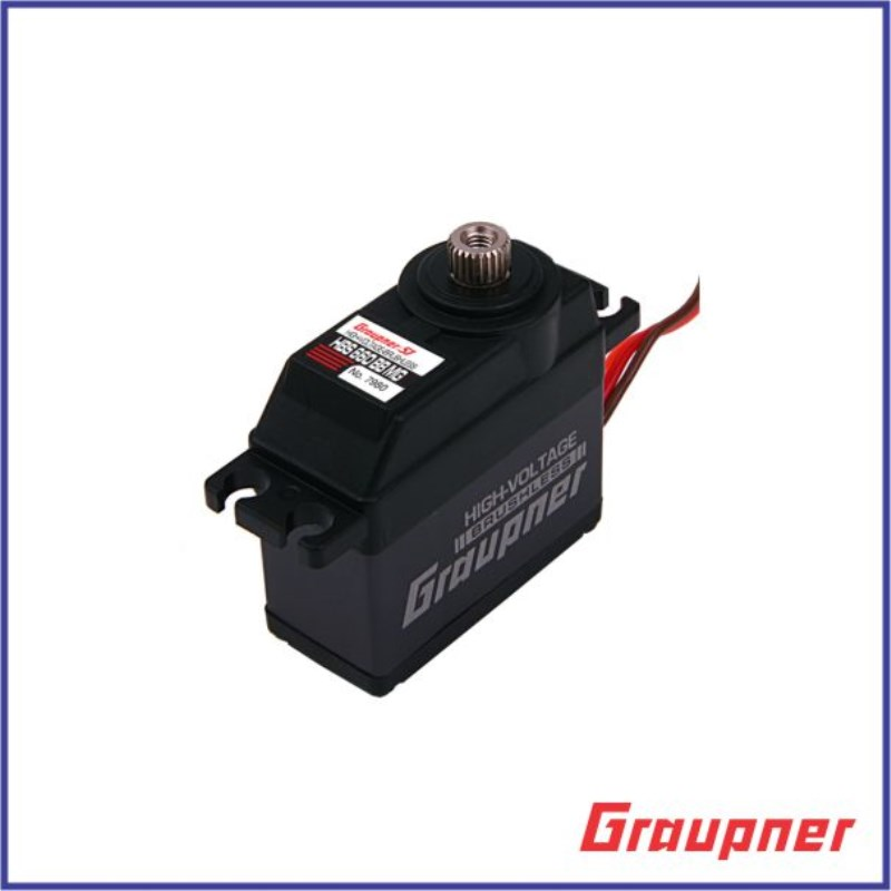 Graupner HBS 660 BBMG Torque HV BL 16mm Digital Servo for JR RC Model Helicopter Board servo motor Free Shipping graupner des 488 bbmg speed 11 5mm digital servo for futaba jr car rc model helicopter boat free shipping
