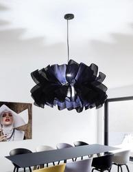Nordic dania pojedynczy klosz żyrandol kreatywny prosta nowoczesna tkanina ręcznie tkana osobowość ciepła sypialnia sala weselna żyrandol