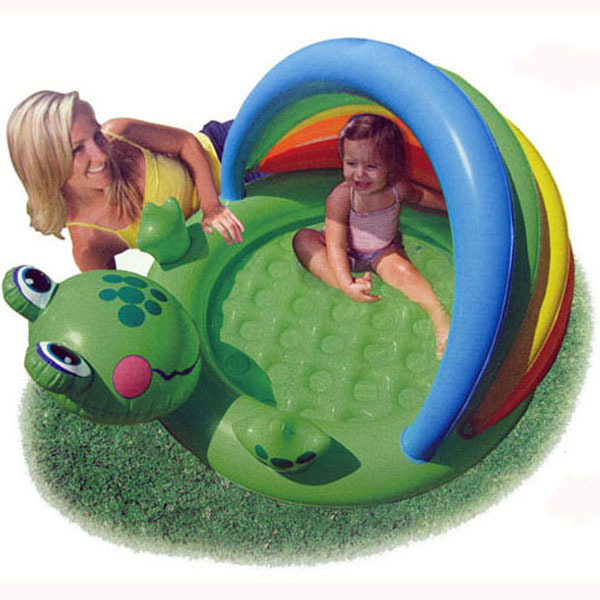 PVC Baby Swimming Pool Frog design Intex inflatable Pool toddler ...