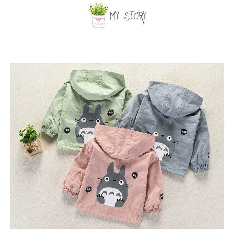 dos desenhos animados do bebê crianças casacos jaqueta roupas