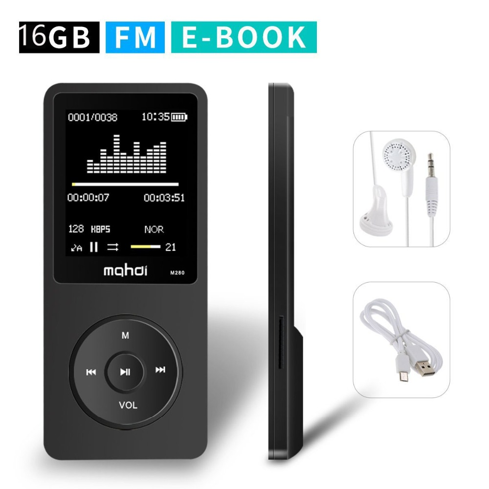 Original Touch Screen mp4 Player 8GB HIFI Player muzical Video FM - Audio și video portabile