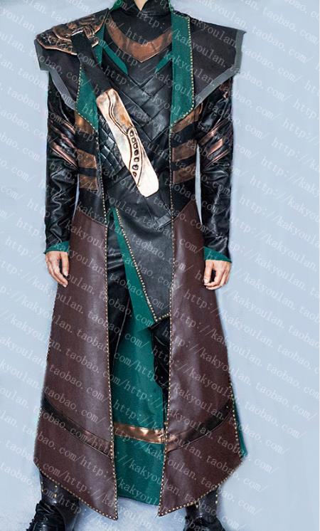 [Personalizar] película Los Vengadores Thor 3 Loki uniforme traje Halloween cosplay disfraces para mujeres adultas hombres cuero PU hecho envío gratis