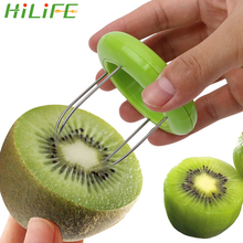 HILIFE Fruit Kiwi Cutter Device Cut Kitchen Peeler Random Color Digging Core Twister Slicer Tools  1 Piece