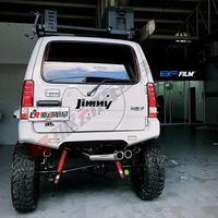 Jimny Rear Door Decoration Panel Car Styling Off Road Accessories