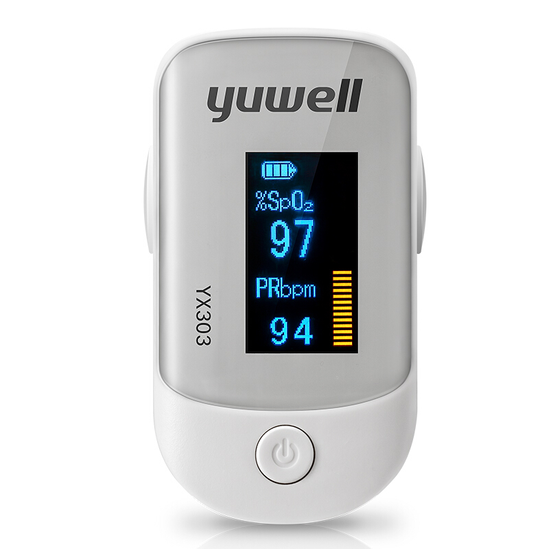 Yuwell Pulse Finger Oximeter Meter LED Display Direction 4 Portable Pulse Oximeter Blood Monitor Color Oxygen SPO2 Free Ship CE