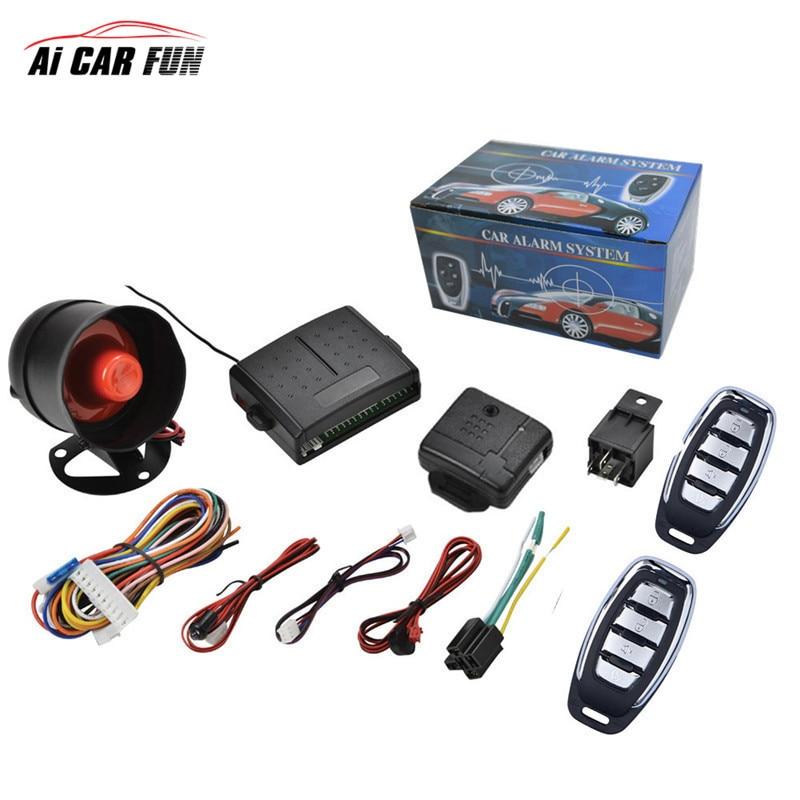 Auto Remote Central Kit Universal Car Alarm Systems Door Loc