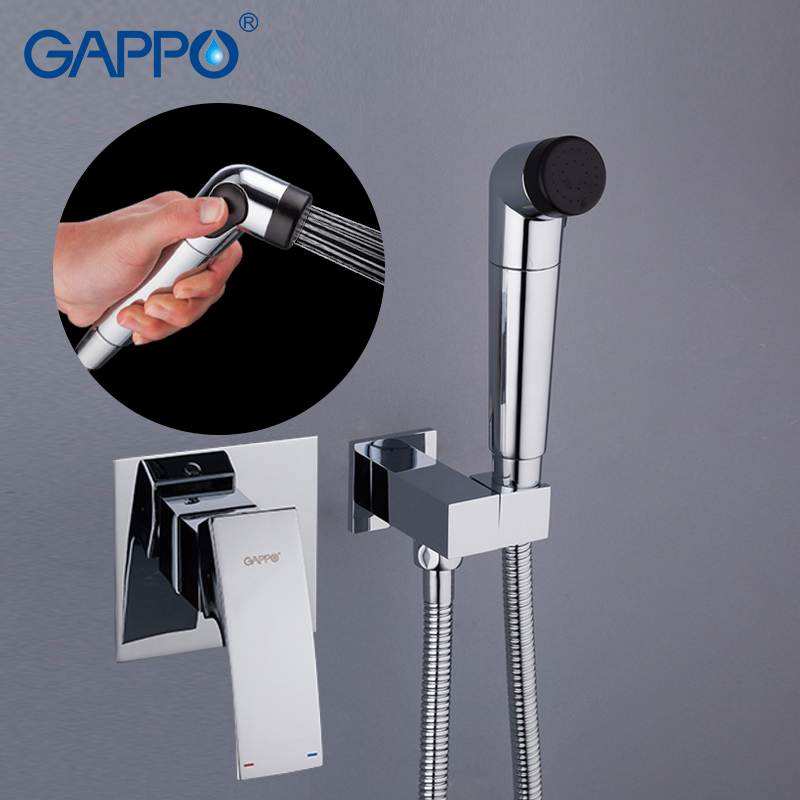 GAPPO Bidets muslim Bidet Faucets hygienic shower toilet shower bidet washer tap mixer wall mount toilet spray набор rondell rds 820 strike