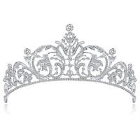 Vintage Wedding Crown Bridal Hair Accessories Round Royal Tiaras and Crowns Bridal Headpiece Luxury Jwelry for Women Tiara DA009