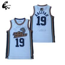 a6aeaa4d8f2 Horlohawk Stitched 19 Aaliyah Bricklayers Basketball Jersey 1996-97 Throwback  Mens