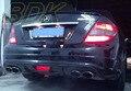W204 C63 Carbon Rear Lip C63 AMG VRS Design Rear Diffuser CF Rear Bumper Lip Case For Merdedes Benz W204 2008 2009 2010