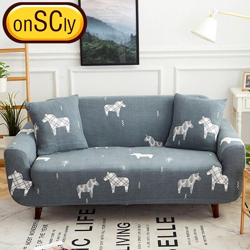 Love Horse Protector Sofa Cover Sofa Slipcover Furniture