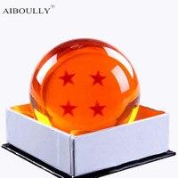 1Pcs 7cm Dragon Ball Z Star Crystal Ball Resin Figure Toys Dragonball Z Crtstal Balls Toy