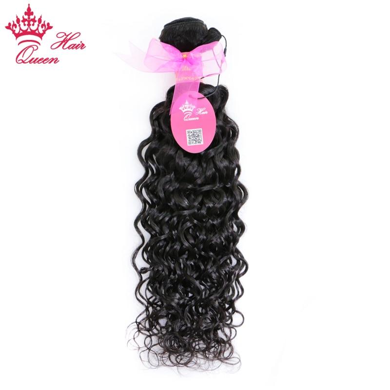 Queen Hair Prodotti Brasiliano Onda di Acqua Dei Capelli di Colore Naturale 10