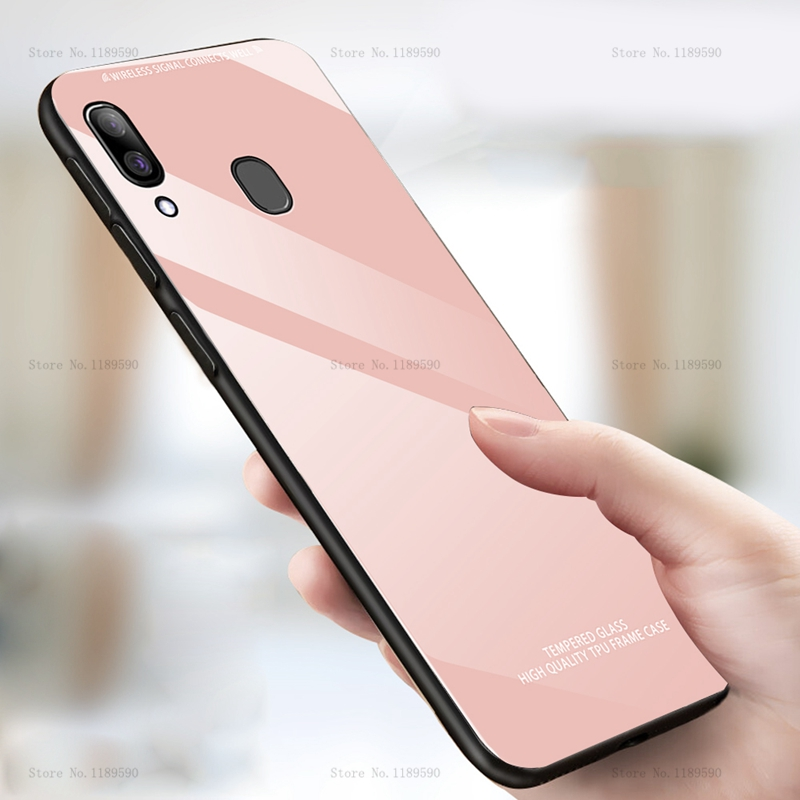 Tempered Glass <font><b>Case</b></font> For <font><b>Samsung</b></font> <font><b>Galaxy</b></font> A50 A30 <font><b>A40</b></font> A60 A70 A10 <font><b>Phone</b></font> <font><b>Case</b></font> on A 50 30 70 40 2019 A50 A70 A30 Protetive Back Cover image