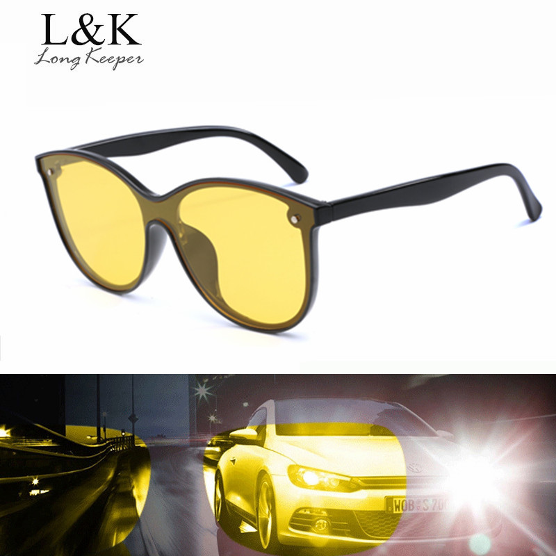 Long Keeper Women Men Polarized Sunglasses Yellow Night Vision Sun Glasses Safe Driving Sports Hiking Goggles Eyewear