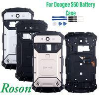 Roson für Doogee S60 Batterie Fall 5 2 zoll Schutz Batterie Zurück Abdeckung Fit Ersatz Für Doogee S60 Lite Mit Werkzeuge-in Handyhüllen aus Handys & Telekommunikation bei