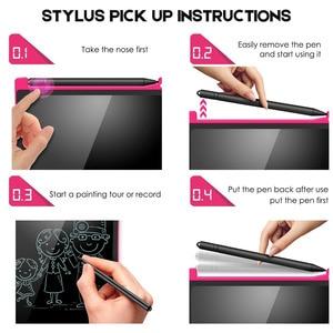 """Image 4 - NEWYES Portable 8.5 """"pouce LCD tablette décriture numérique dessin tablette manuscrite tampons électronique tablette conseil ultra mince"""