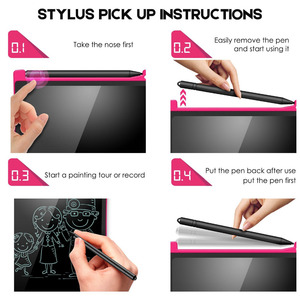 Image 4 - NEWYES Tableta portátil de escritura LCD de 8,5 pulgadas, tableta de dibujo Digital, almohadillas de escritura a mano, tableta tipo pizarra electrónica, tablero ultrafino