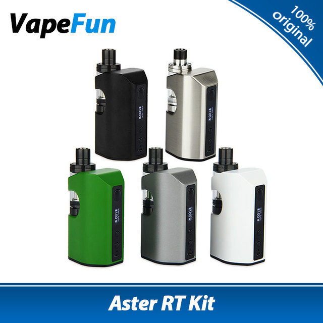 Original 100 w kit 4400 mah batería 3.8 ml melo eleaf aster rt rt 22 tanque de cigarrillos electrónicos aster rt kit vape vs eleaf pico doble kit