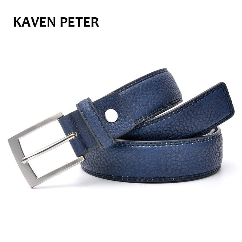 Mode-accessoires Trends Jeansriem Heren Koeienhuid Blauwe jurk met - Kledingaccessoires - Foto 2