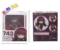 Nendoroid Anime Fate Grand Order Lancer Scathach 743 PVC Action Figure Collectible Model Toys Doll 10cm