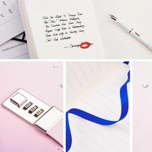 Image 5 - Cuaderno creativo con constelación del zodiaco, diario con cerradura, decoración de diamantes, diario, planificador, 2019