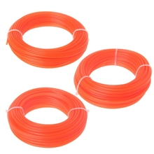 2/2.4/3mm x 15M Nylon Trimmer Line Brush Cutter Strimmer Rope Lawn Mower Wire цена